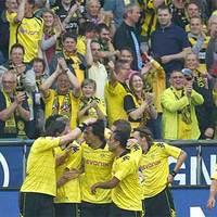 Eldőlt! Botlott a Leverkusen, bajnok a Borussia Dortmund