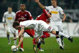 """A HSV """"szűz"""" fiújának gólja pontot ért a Gladbach ellen"""