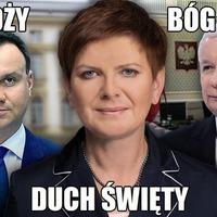 Beata Szydło, Kaczyński kedves álarca