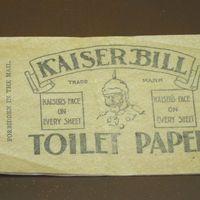 A WC-papír szerepe az I. világháborúban