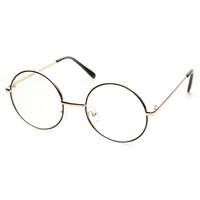 Tölgyfalombokkal ékesített aranykeretes szemüveg