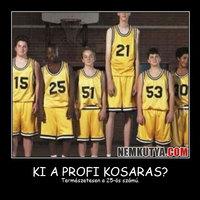 Ki a profi kosaras?