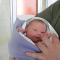 2010.09.29. megszületett Eszter kisöccse, Lázár