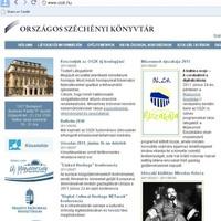 Megújult az Országos Széchényi Könyvtár honlapja