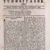 Széchényi halála 1820. december 13.