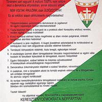 Parlamenti választások 1990: KDNP