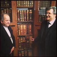 #könyvtár #library Bábel Balázs kalocsai érsek és Káldos János megbizott főigazgató