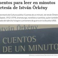 Cuentos de un minuto, de István Örkény