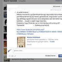 Könyvritkaság értékbecslése a Facebookon