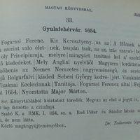 Todoreszku Gyula tudományos munkássága