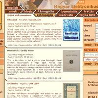 Szabadon elérhető e-könyvek az Országos Széchényi Könyvtárban