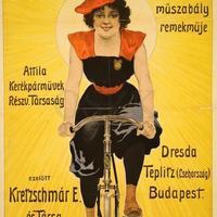 """""""Biciklizik itt mindenki"""". A kerékpár századfordulós plakátokon"""