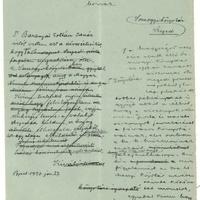 Móra Ferenc könyvtárigazgatói levelezéséből