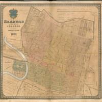 Szarvas község térképe 1907-ből