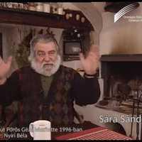 85 éves Sára Sándor Kossuth-nagydíjas operatőr, rendező