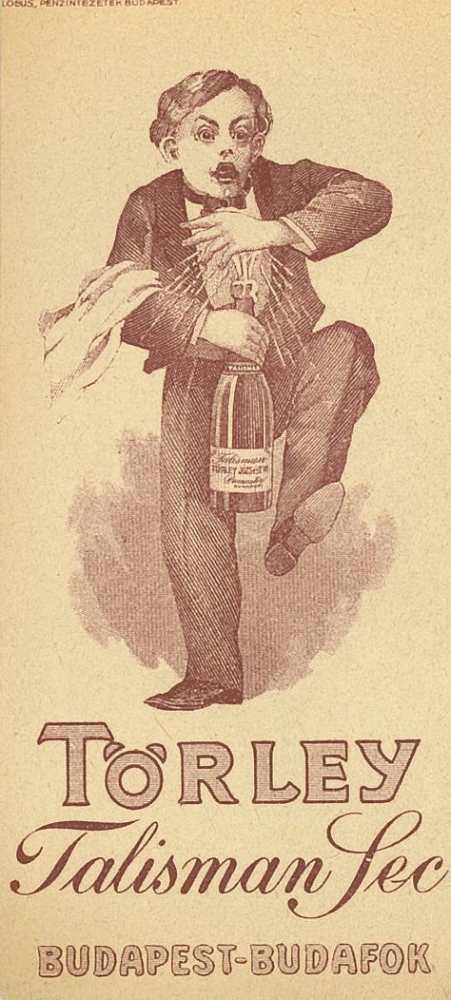 Törley számolócédula – Plakát- és Kisnyomtatványtár