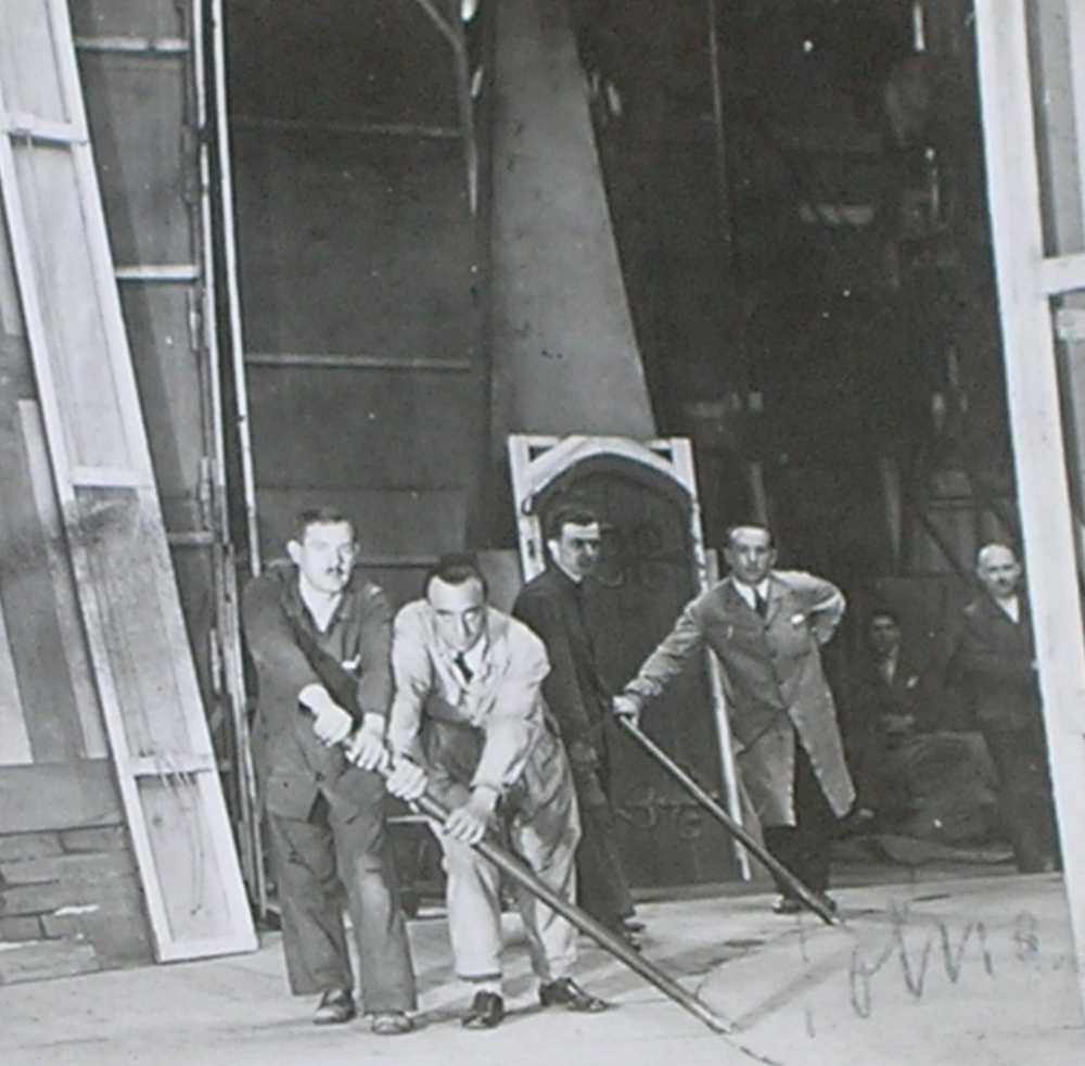 A windsori víg asszonyok. A Nemzeti Kamara mozgószínpadának forgatása.