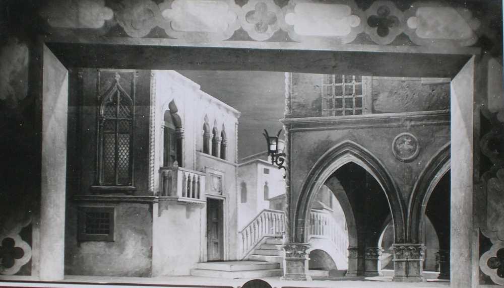Othello. Színpadfotó. Nemzeti Színház, 1929. október 25.