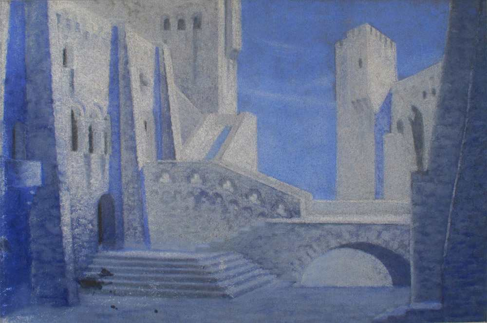 Wagner: Lohengrin – Az antwerpeni vár udvara. Operaház, 1933. február 14.