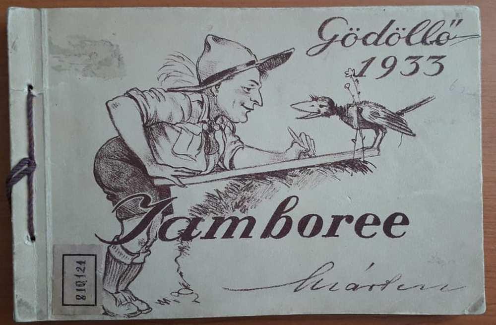Márton Lajos: Jamboree: Gödöllő. 1933, Budapest, Magyar Földrajzi Intézet, 1933. Címlap – Törzsgyűjtemény http://nektar.oszk.hu/hu/manifestation/3221659