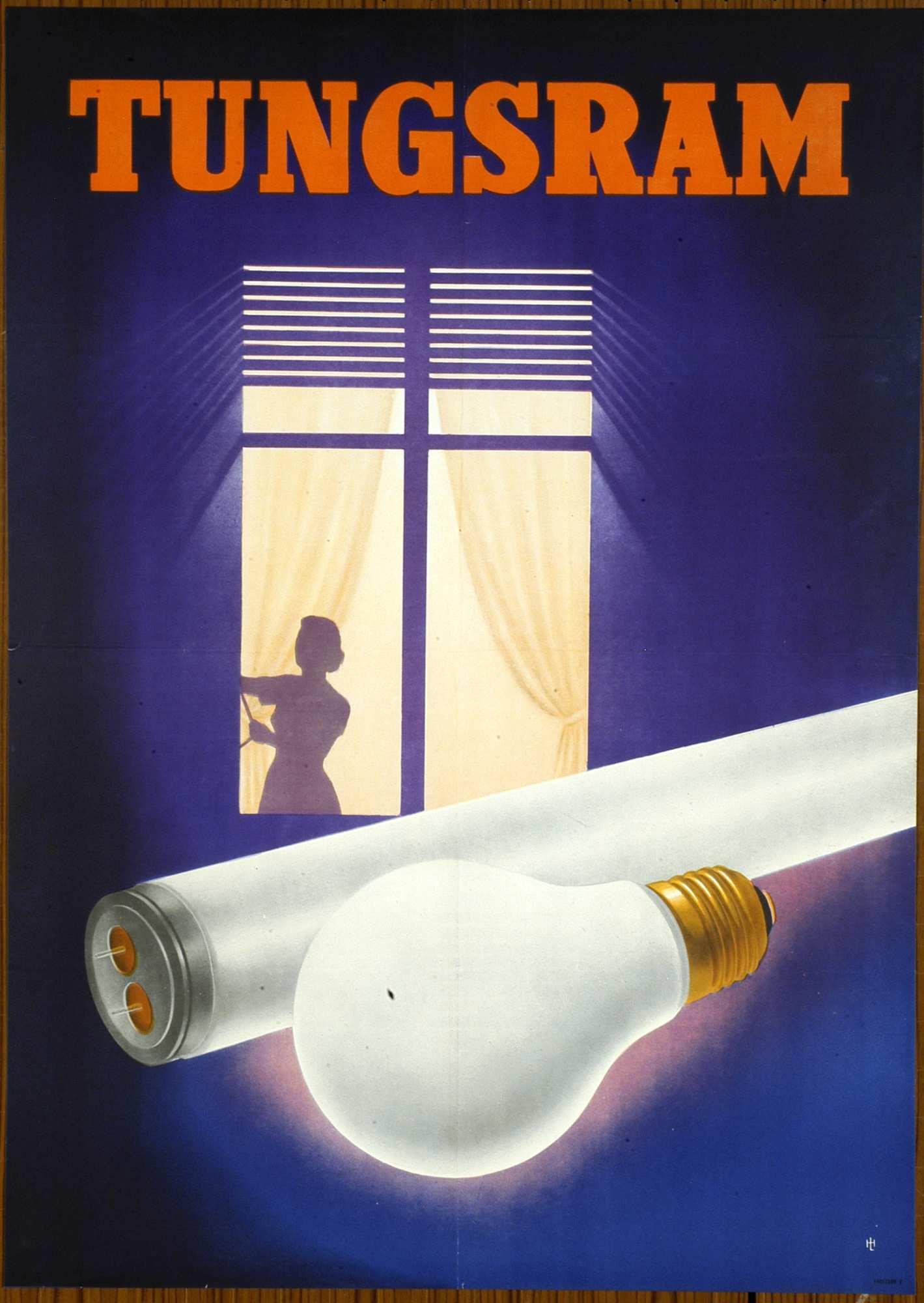Tungsram. Jelzet: PKG.1953/505 – Plakát- és Kisnyomtatványtár