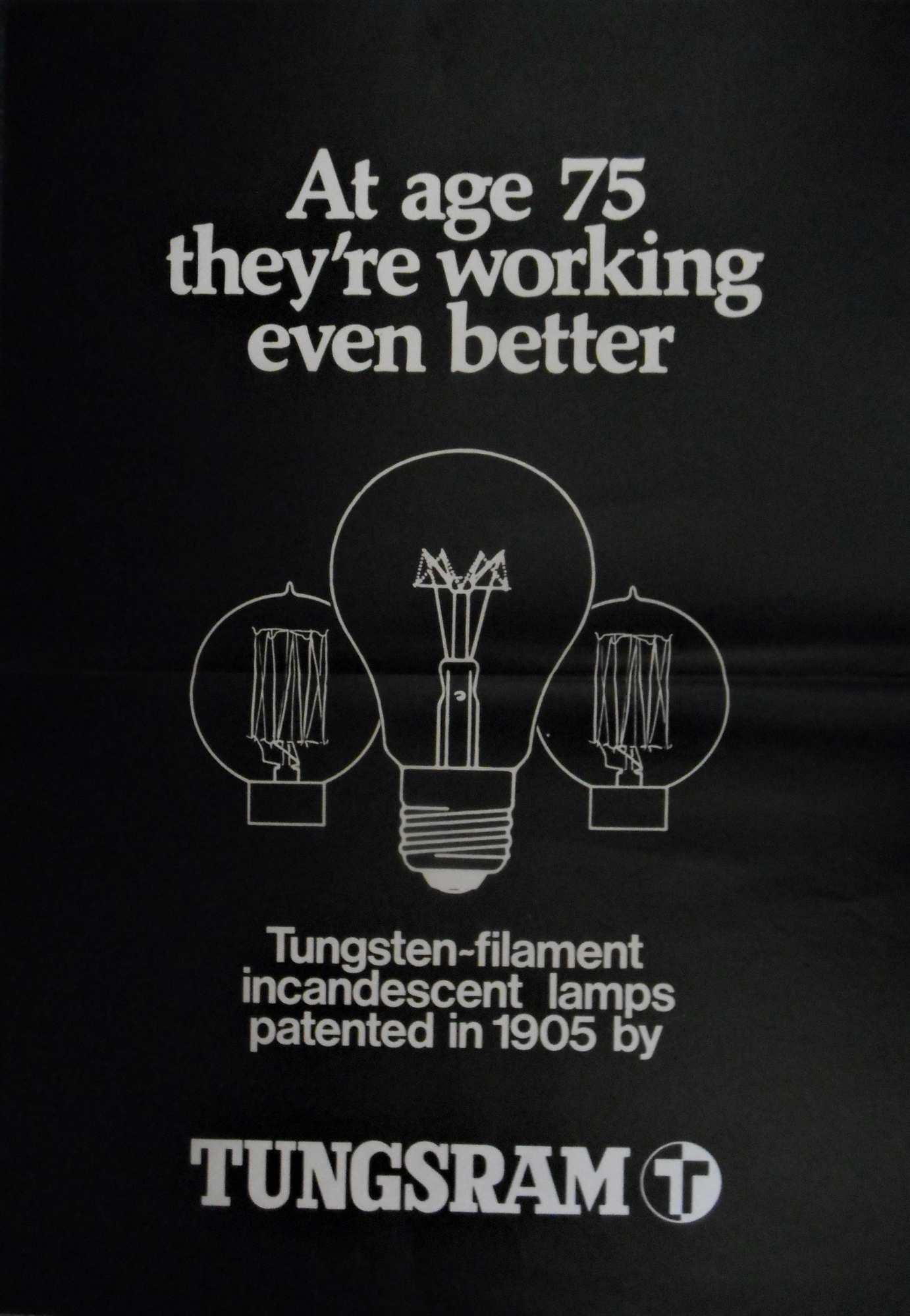 Tungsram. Jelzet: PKG.1979/565 – Plakát- és Kisnyomtatványtár
