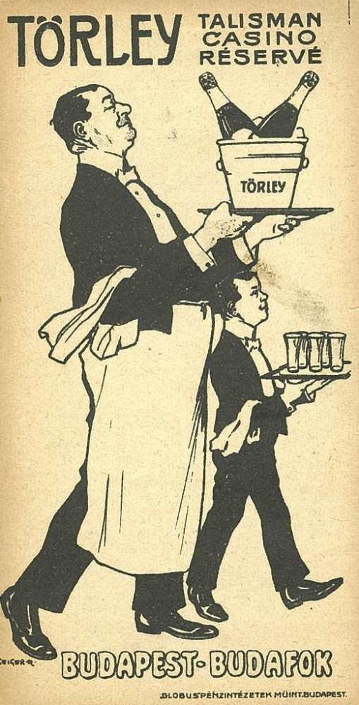 Törley-számolócédula – Plakát- és Kisnyomtatványtár