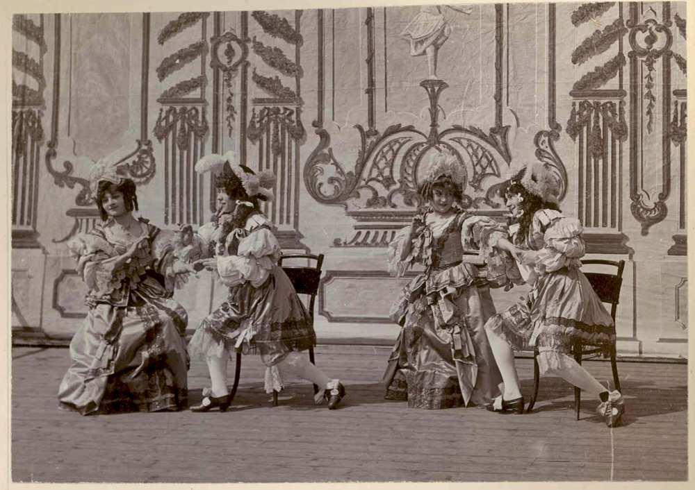 Courante – Színháztörténeti és Zeneműtár