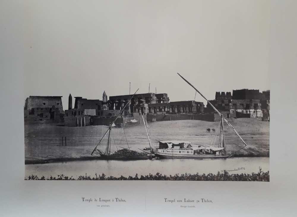 A luxori templom a kikötővel