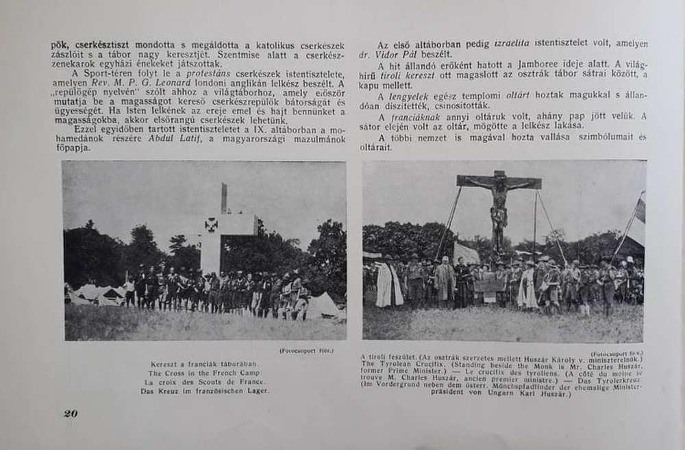 Márton Lajos: Jamboree: Gödöllő. 1933, Budapest, Magyar Földrajzi Intézet, 1933., 20. http://nektar.oszk.hu/hu/manifestation/3221659