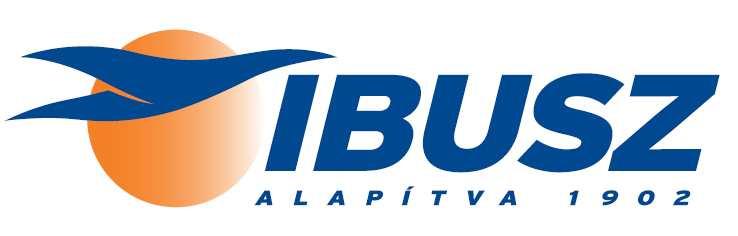 Az IBUSZ mai, modernizált logója