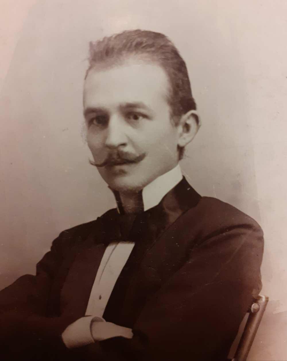 Beöthy László, a Nemzeti Színház igazgatója. Erdélyi fotó KB 3683.1 – Színháztörténeti és Zeneműtár