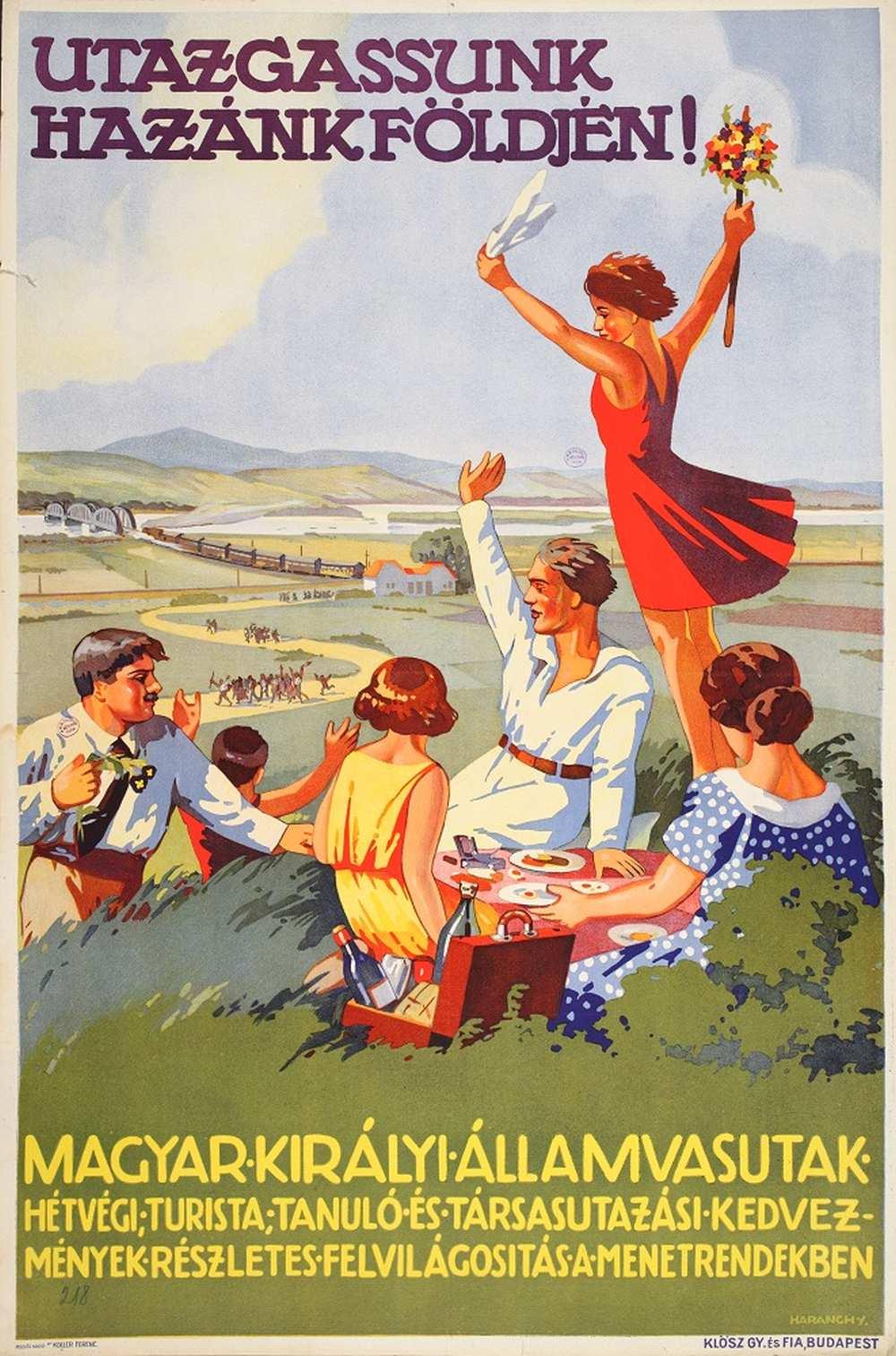 Haranghy Jenő: Utazgassunk hazánk földjén! (1930). Jelzet: PKG.1930/76 – Térkép-, Plakát- és Kisnyomtatványtár http://nektar.oszk.hu/hu/manifestation/2771546