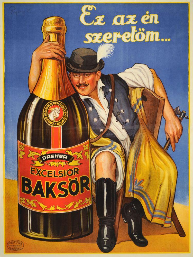 Ez az én szeretőm. Grafikus: Pogány Lajos. Jelzet: PKG.1928/168/a – Plakát- és Kisnyomtatványtár