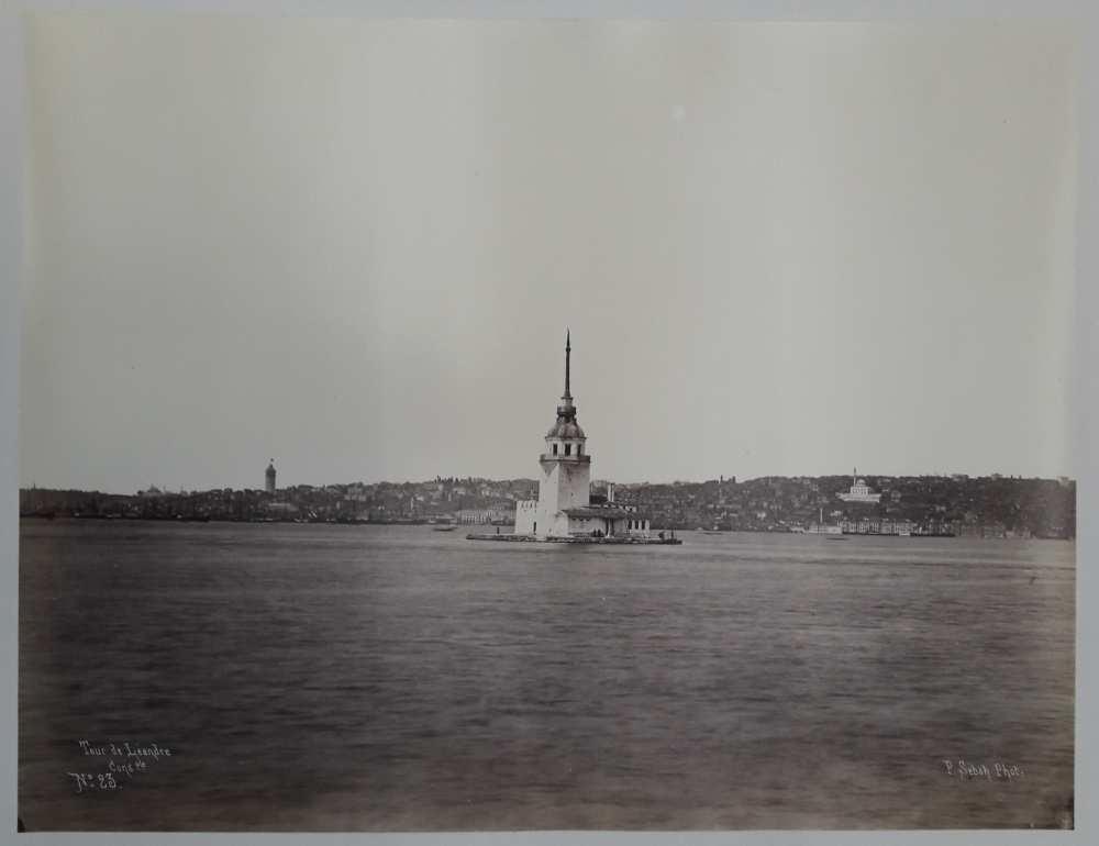 A Leandrosz-torony. In. Constantinople 1869 (Dm 743) album