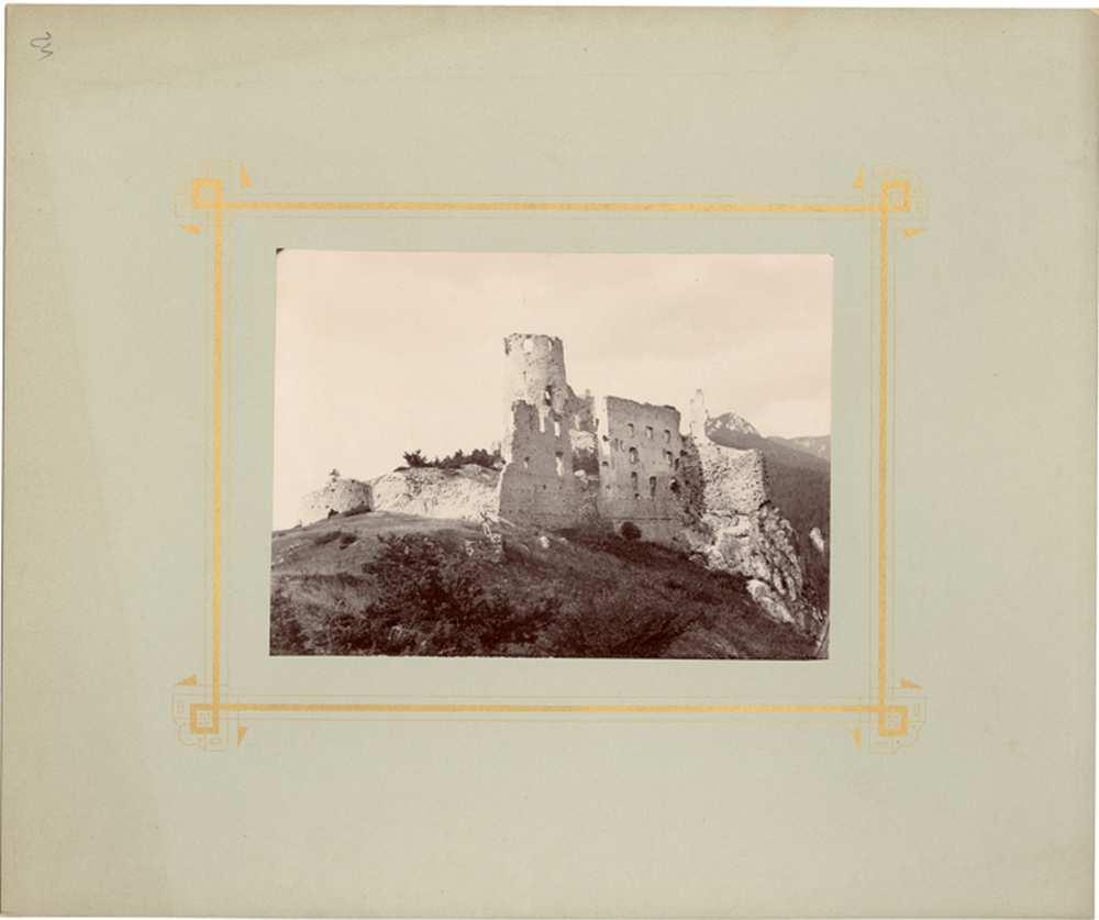 Blatnica vára – Történeti Fénykép- és Videótár. FTC 0045
