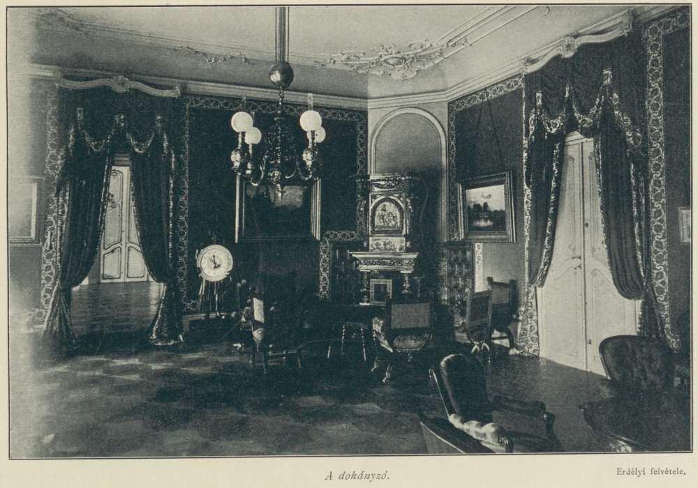 A dohányzó. In. Ripka Ferenc: Gödöllő a királyi család otthona, Budapest, Szerző, 1896. – Törzsgyűjtemény http://nektar.oszk.hu/hu/manifestation/3001235