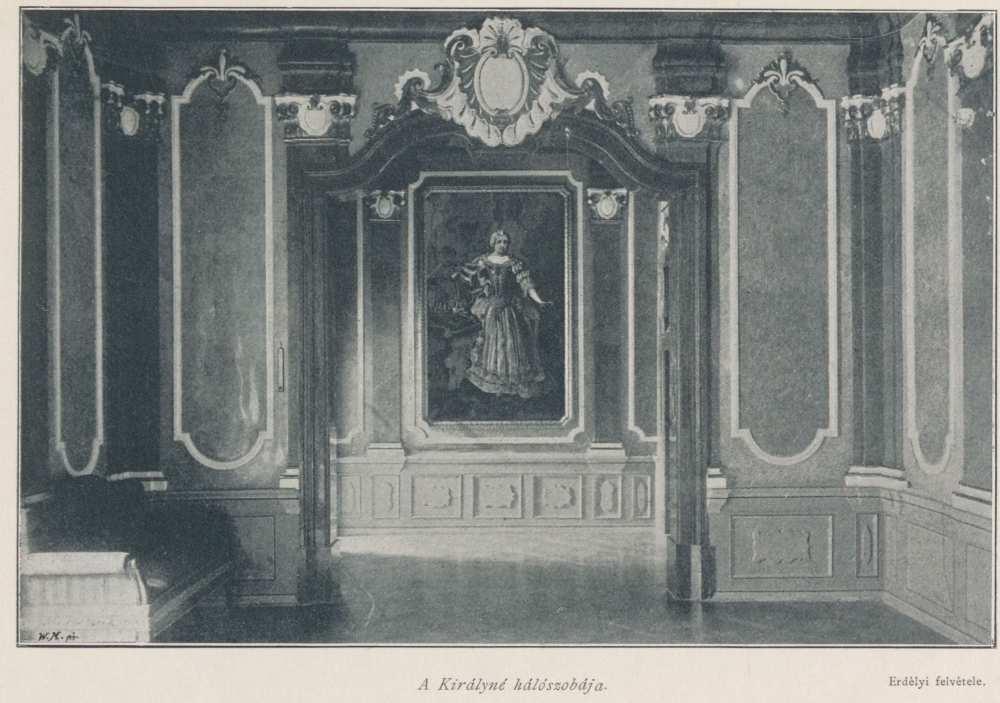A királyné hálószobája. In. Ripka Ferenc: Gödöllő a királyi család otthona, Budapest, Szerző, 1896. – Törzsgyűjtemény http://nektar.oszk.hu/hu/manifestation/3001235