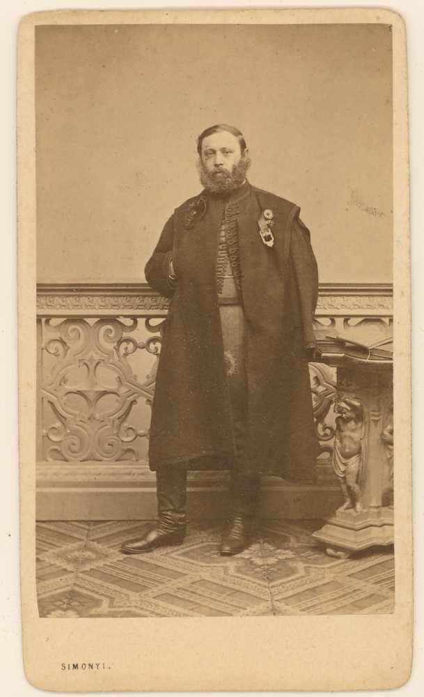 Szegfi Mór Mihály. Fénykép. Simonyi Antal – Kézirattár. Arckép 935/2.