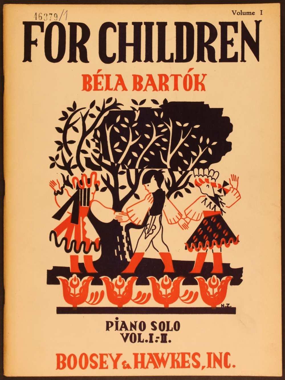 For Children I–II. Bartók a Gyermekeknek sorozat darabjait az 1943-as esztendő folyamán Amerikában revideálta és újabb kiadásra előkészítette. Ez a változat azonban már csak halála után, 1946-ban jelent meg a Boosey and Hawkes kiadónál. – Színháztörténeti és Zeneműtár