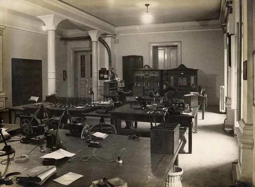 A Budapesti Főposta utalványozóosztálya, I. kötet – Postamúzeum. Leltári szám: 24.507.0