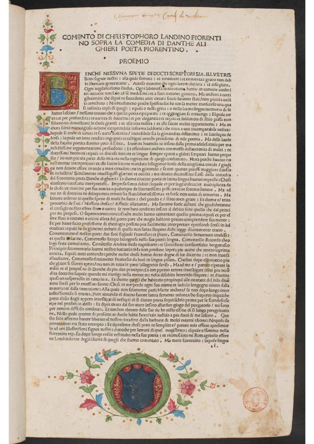 Firenze, Biblioteca Nazionale Centrale: Banco Rari 12. A kép forrása: Internet Archive https://archive.org/details/b.-r.-12_202101/page/n8/mode/1up