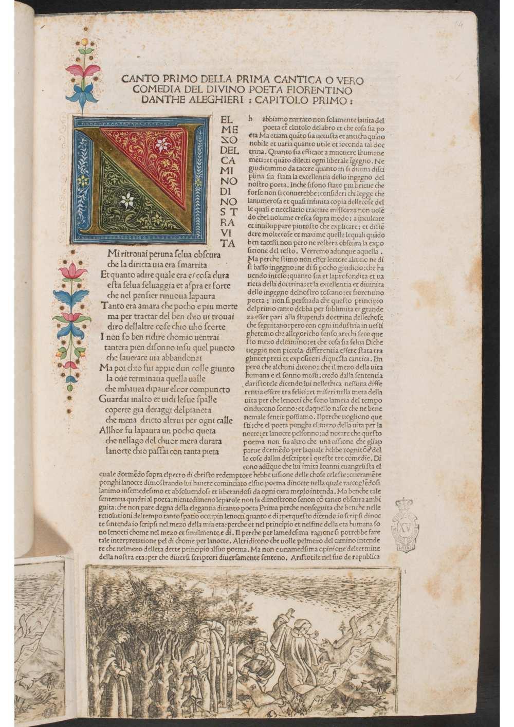 Firenze, Biblioteca Nazionale Centrale: Banco Rari 12. A kép forrása: Internet Archive https://archive.org/details/b.-r.-12_202101/page/n34/mode/1up
