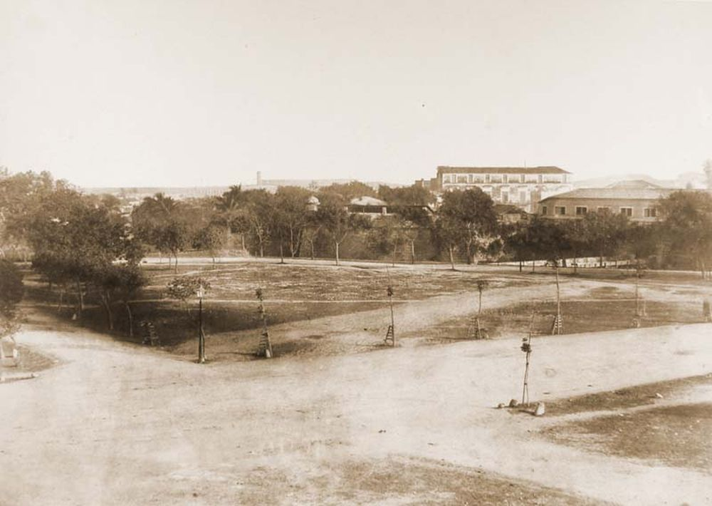 Havanna látképe az északi palotával. Jelzet: FTD 117 – Történeti Fénykép- és Videótár