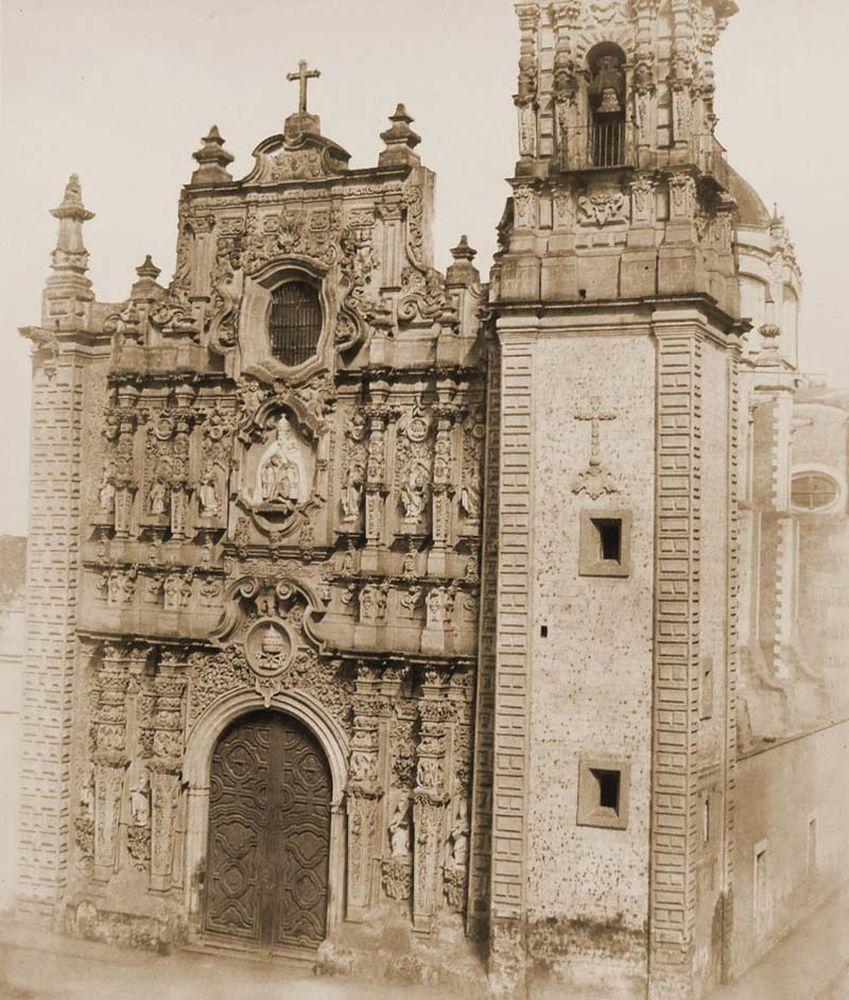 La Santissima temploma Mexikóvárosban. Jelzet: FTD 136 – Történeti Fénykép- és Videótár