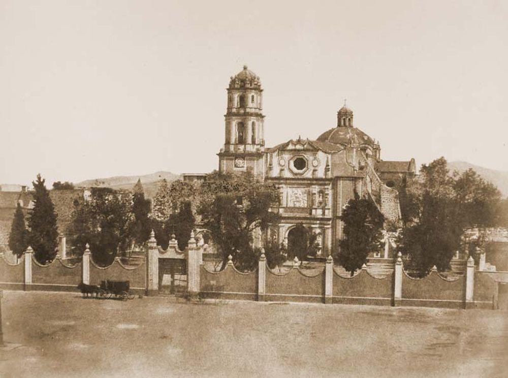 San Fernando kolostora Mexikóvárosban. Jelzet: FTD 137 – Történeti Fénykép- és Videótár