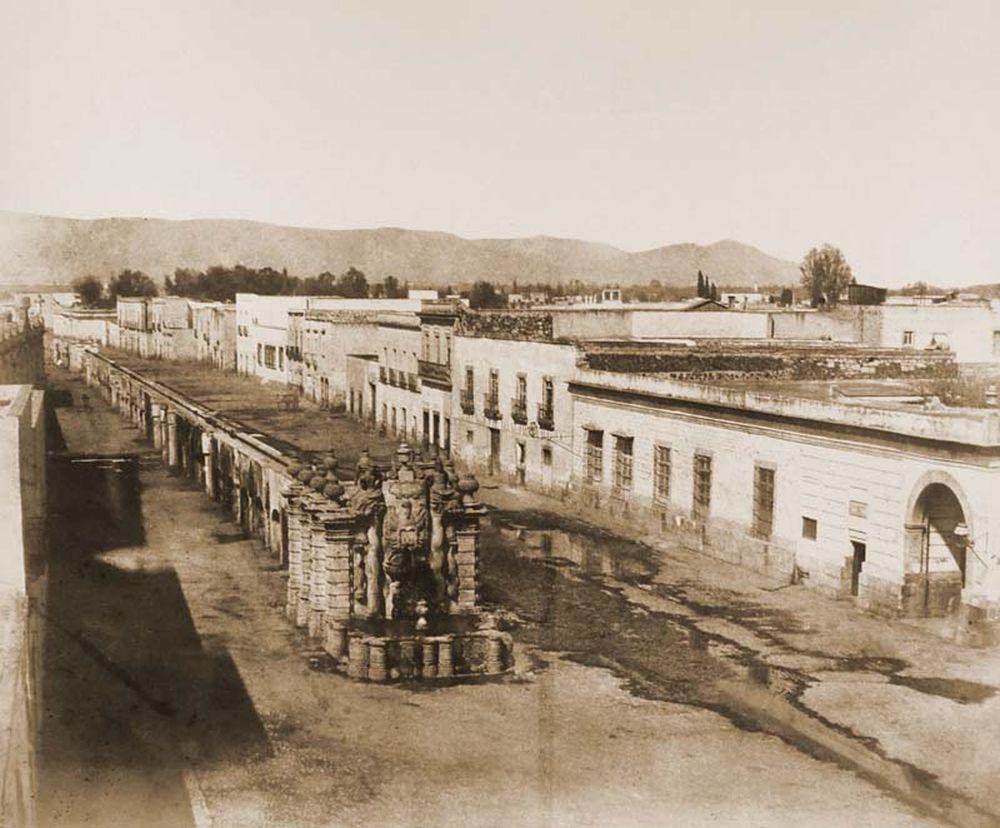A beleni vízvezeték látképe. (Mexikó). Jelzet: FTD 138 – Történeti Fénykép- és Videótár