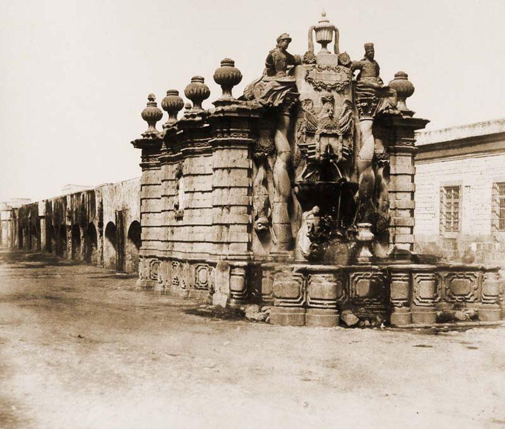 A beleni vízvezeték kútfeje, El salto del aqua. (Mexikó). Jelzet: FTD 139 – Történeti Fénykép- és Videótár