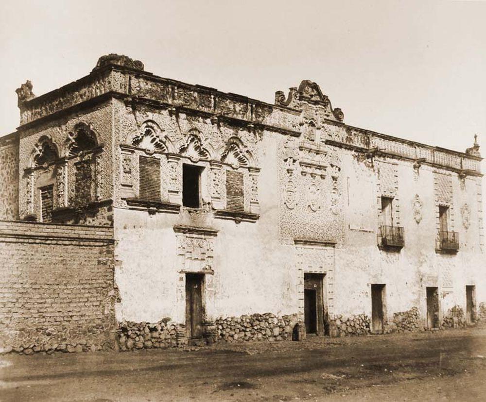 Cortez háza, Casa de Cortez a legrégebbi ház Mexikóvárosban. Jelzet: FTD 141 – Történeti Fénykép- és Videótár