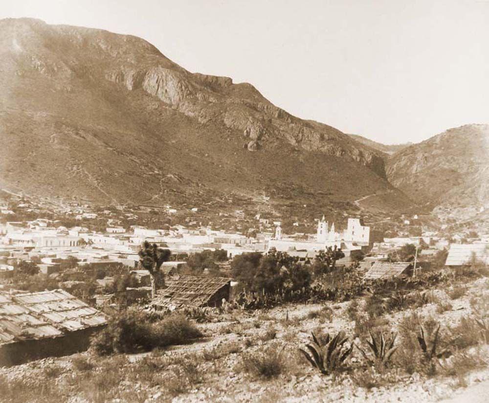 Bánya áros látképe Pachucában. (Mexikó) Jelzet: FTD 142 – Történeti Fénykép- és Videótár